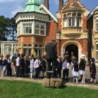 Form 2 & 3 trip to Bletchley Park