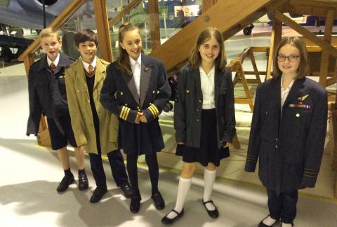 Form 6 visit to RAF Museum