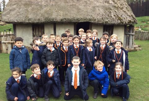 Year 3 visit Mountfitchet Castle