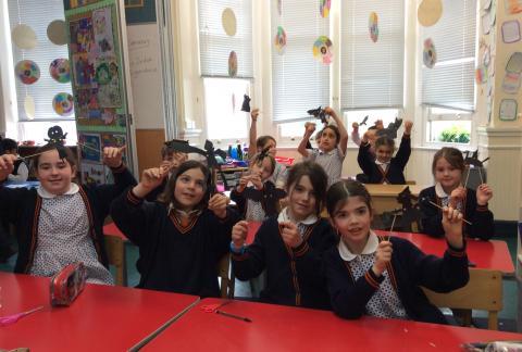 Year 3 Puppet theatre workshop
