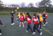 Form 4 & 5 Netball v Salcombe