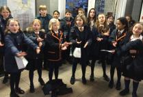 Senior Choir to Matilda - Ms Regan