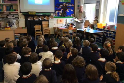 A visit from children's author Alexander Martin