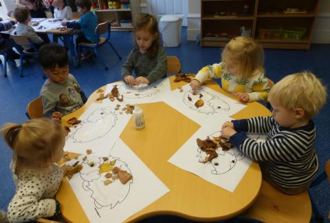 Autumnal activities in Infant Community