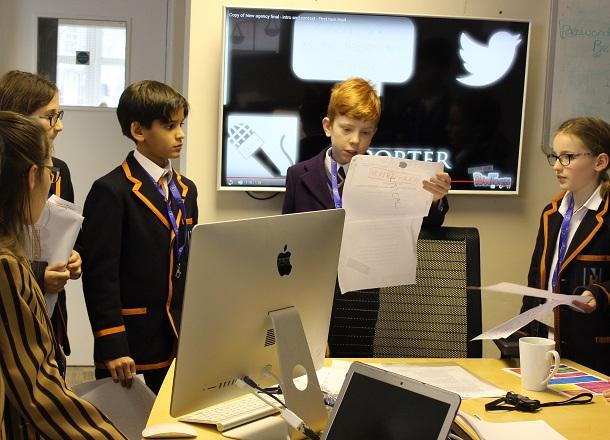 Pupils take part in Collaborative Learning Day