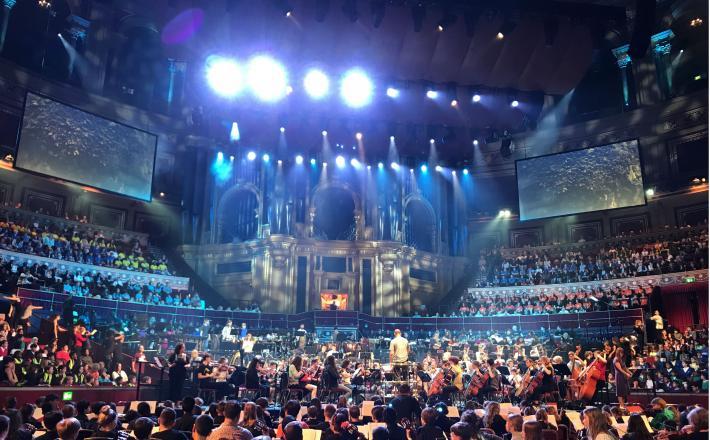 'Haringey Goes Wild' at the Royal Albert Hall