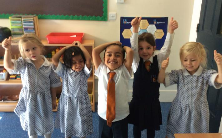 A great start to the year for Pre-Prep