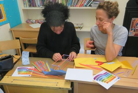 Parents enjoy an evening of workshops
