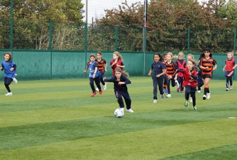 Video: Girls Football with Years 3 and 4