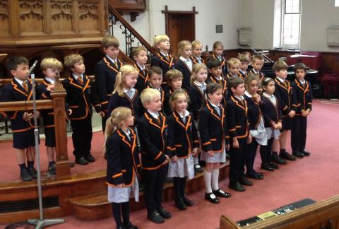 Harvest Festival: A report from our pupil Head of Music
