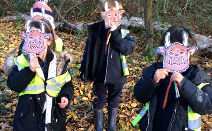 Reception's Forest School Adventures
