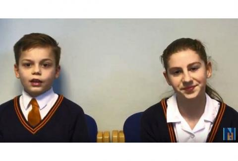 Our Head Boy and Girl reflect on the 11+ process