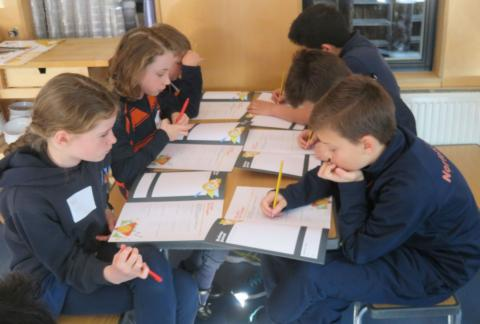 Form 6 report on Young Enterprise