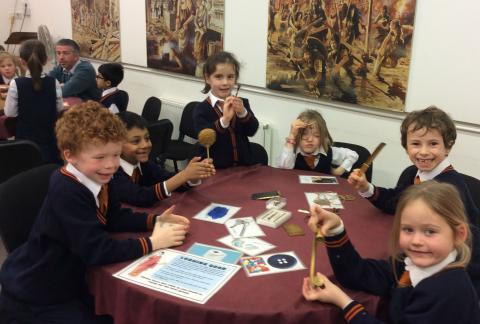 Form 2 visit the Verulamium Museum