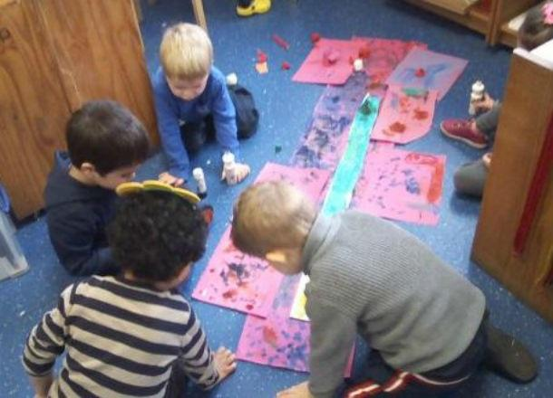 Nursery reflect on Spring Term
