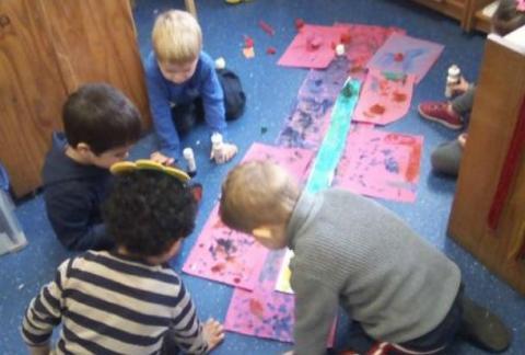 Nursery reflect on Spring Term