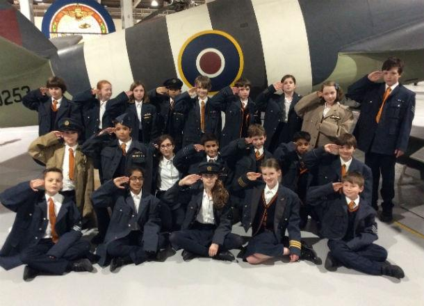 Form 6 visit the RAF Museum