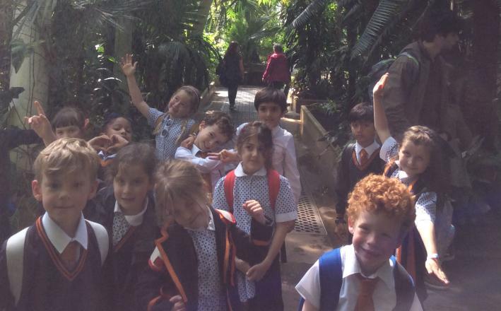 Form 2 visit Kew Gardens