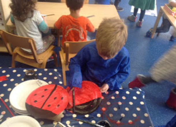 Nursery explore minibeasts and under the sea