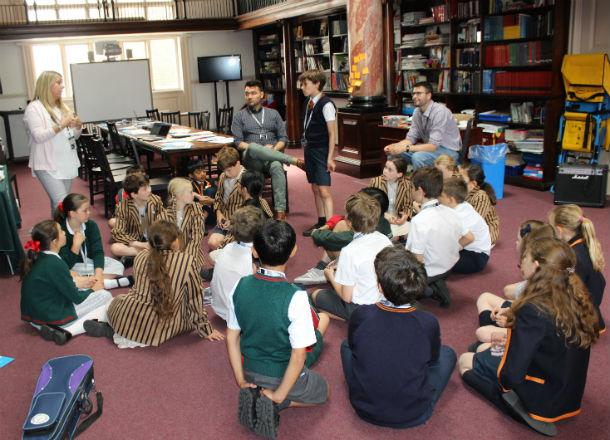 Collaborative Learning Day at The Hampshire School