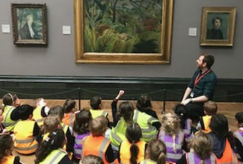 Form 1 visit the National Art Gallery