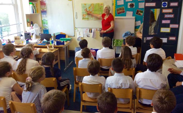 World War Two Author visits Form 6