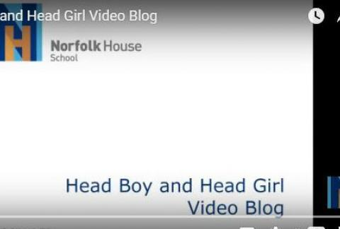 Head Boy and Girl Blog