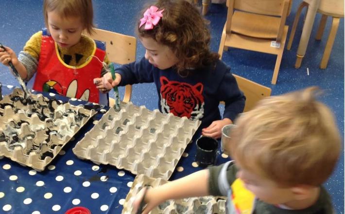 Exploring Science in Nursery