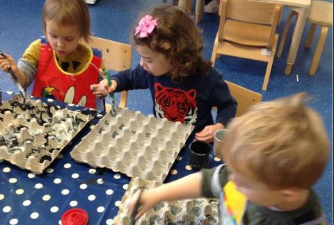 Exploring Science in Nursery