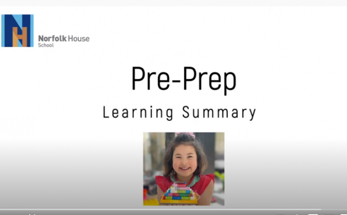 Pre-Prep Learning Summary