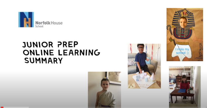 Junior Prep Online Learning Summary