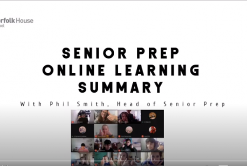 Senior Prep Online Learning Summary