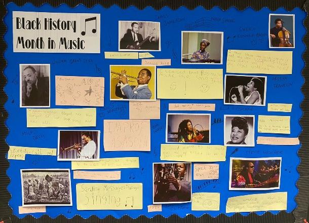 Norfolk House commemorated Black History Month
