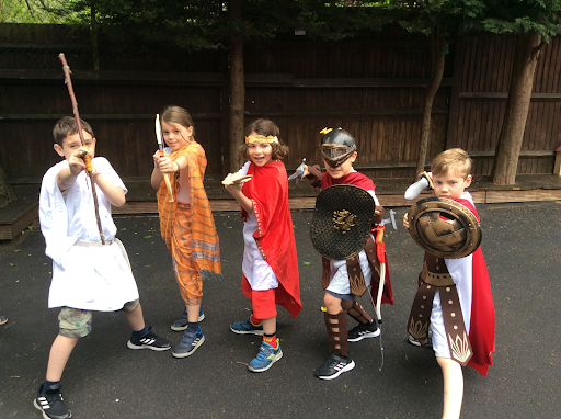 Form 3's Ancient Greece Day