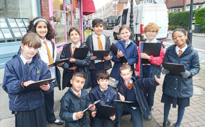 A Geography Trip to the High Street
