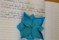 Form 5   Origami: Impermanence in Buddhism