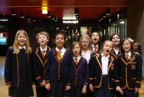Festive Singing from Norfolk House School