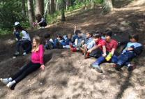 Form 4 enjoy their first activity at PGL