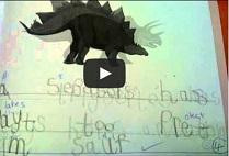 Creating Dinosaur Fact Books