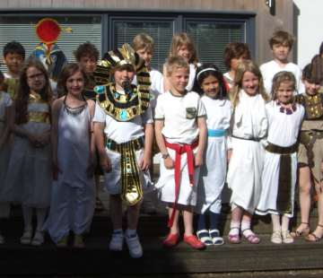 Form 3's Ancient Egyptian Day