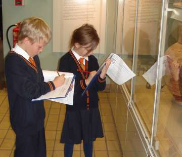 Form 2's Trip to the Verulamium Museum